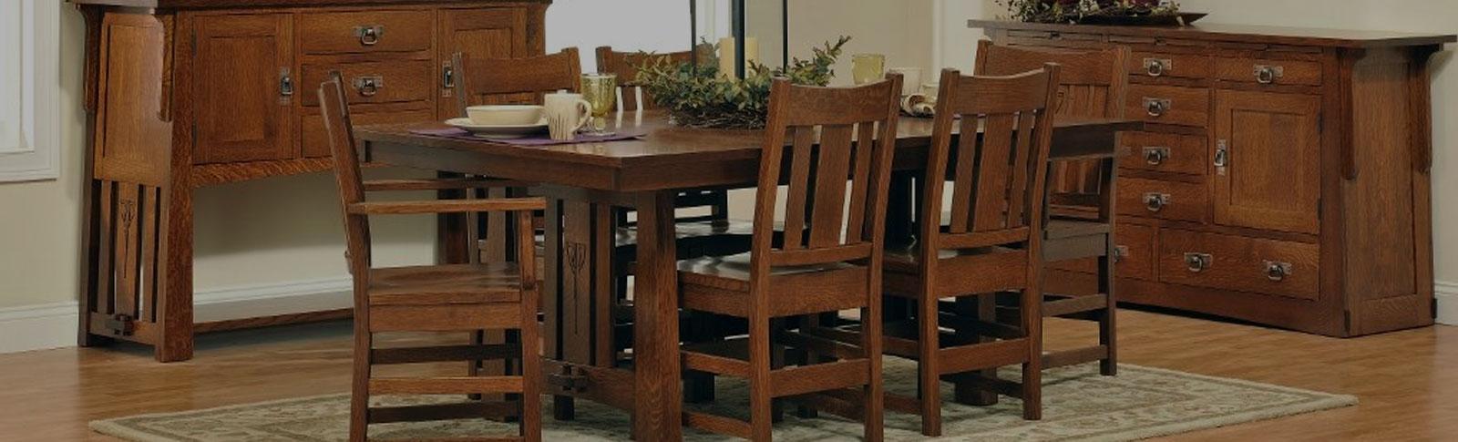 Custom Wood Furniture In A Local Artisans American Craftsmen